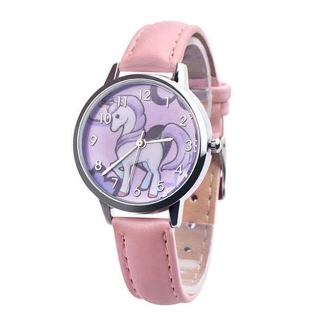 [READY STOCL] GR001 Kids Unicorn Watch Jam Tangan Kanak-Kanak Gift Malaysia