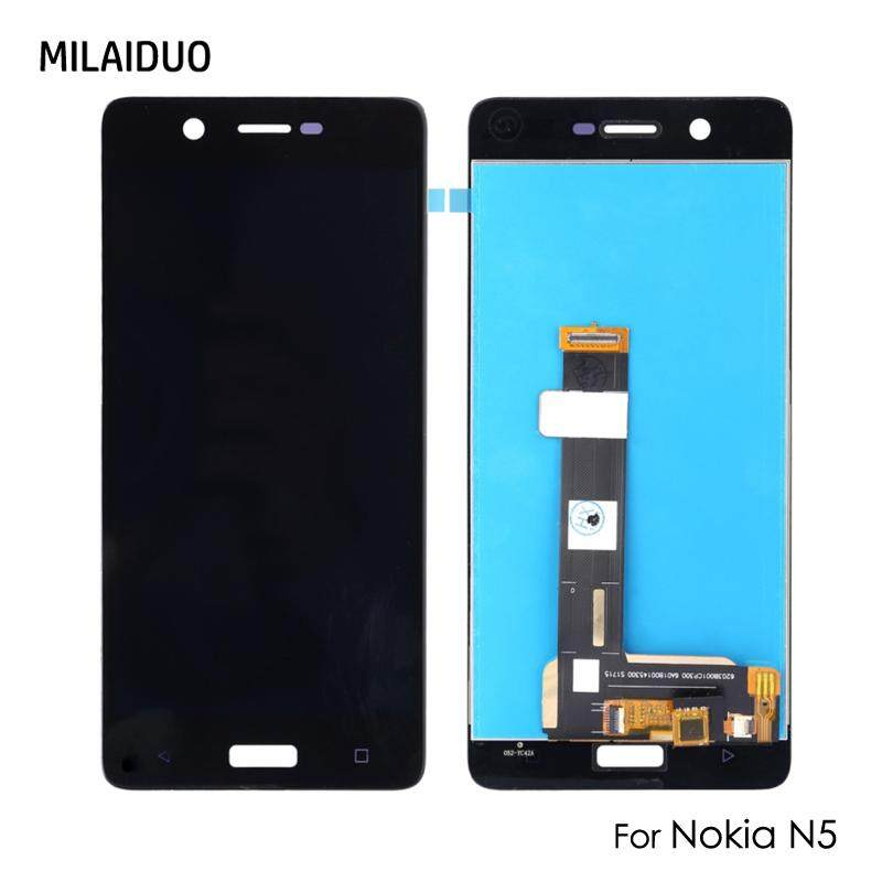 Milaiduo Layar LCD untuk Nokia 5 N5 Ta-1008 Ta-1030 5.2
