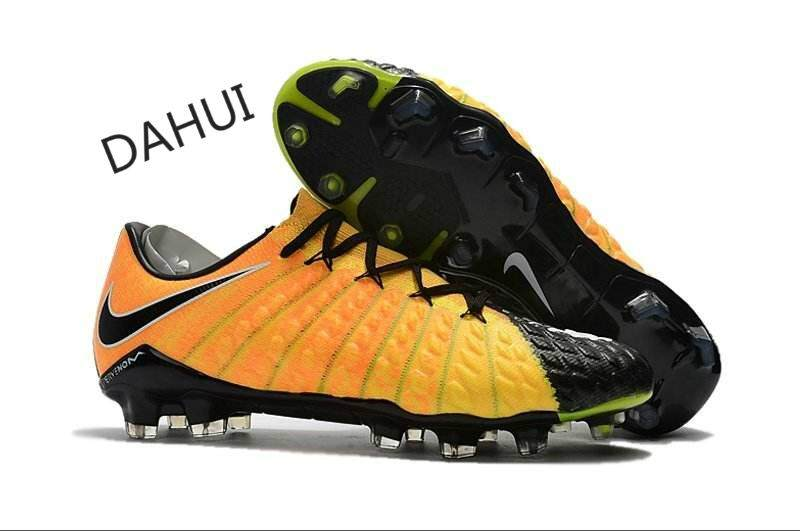 4da14041de9 Arrival Football Boots Men Superfly Soccer Shoes Hypervenom Phantom III FG  Outdoor Training Boots (Black