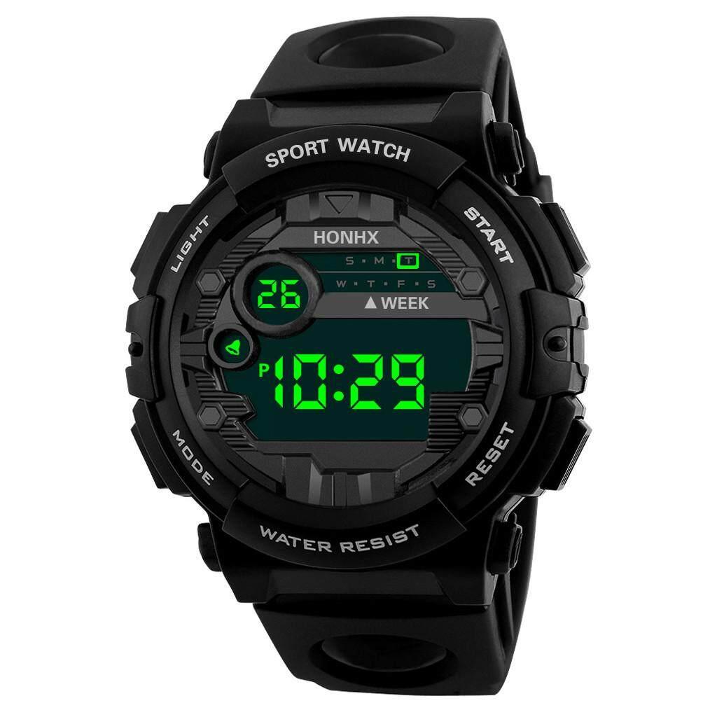 You raise me up HONHX Luxury Mens Digital LED Watch Date Sport Men Outdoor Electronic Watch WKJO54321SBR Malaysia