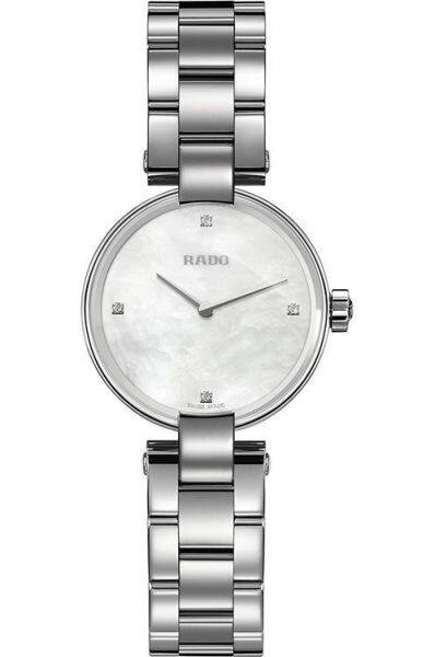 RADO Coupole Diamonds White Mother Of Pearl Dial Ladies Watch - R22854933 Malaysia