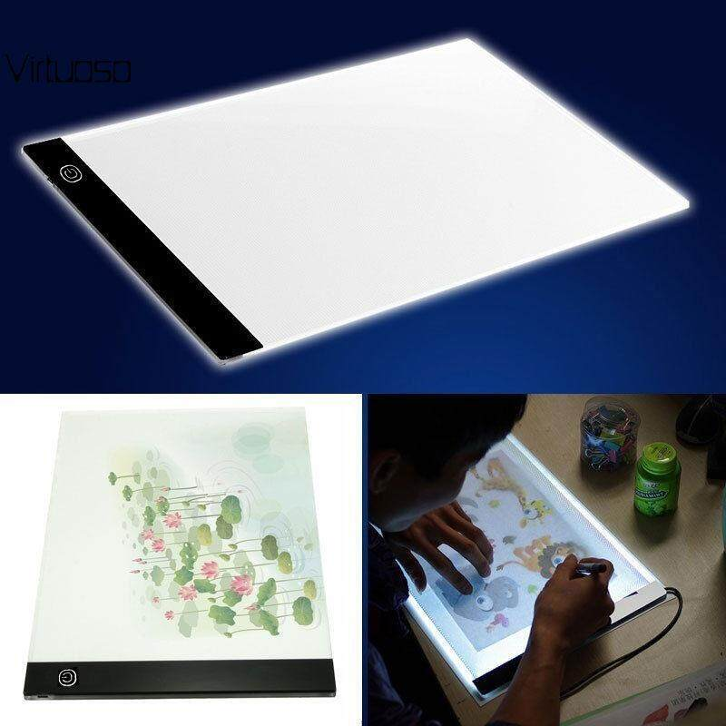 Virtuoso Acrylic IP65 Tracing Board Drawing Tablet Writing Copy Pads LED Table Art Supplies Tattoo Lights Sketching