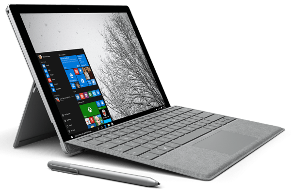 Microsoft Surface Pro 4 Intel Core i5-6th Gen/8GB RAM/256GB SSD 12.3 Touch/TypeCover Keyboard/Stylus Pen/Win 10 Pro Malaysia