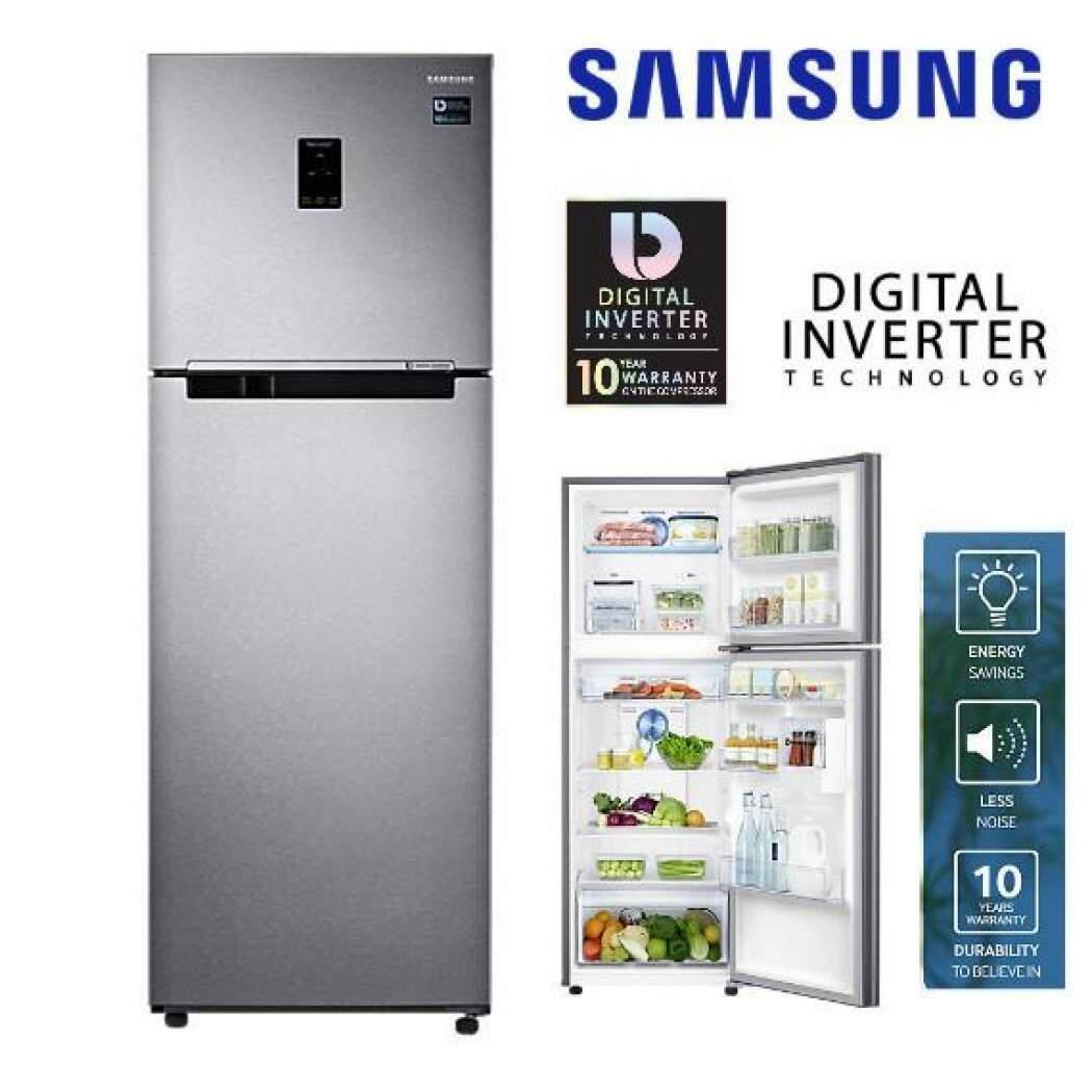 Samsung Twin Cooling Plus Fridge 410l SAM RT32K5552SL/ME