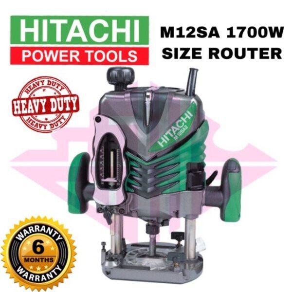 HITACHI M12SA,1700W SIZE ROUTER 12MM