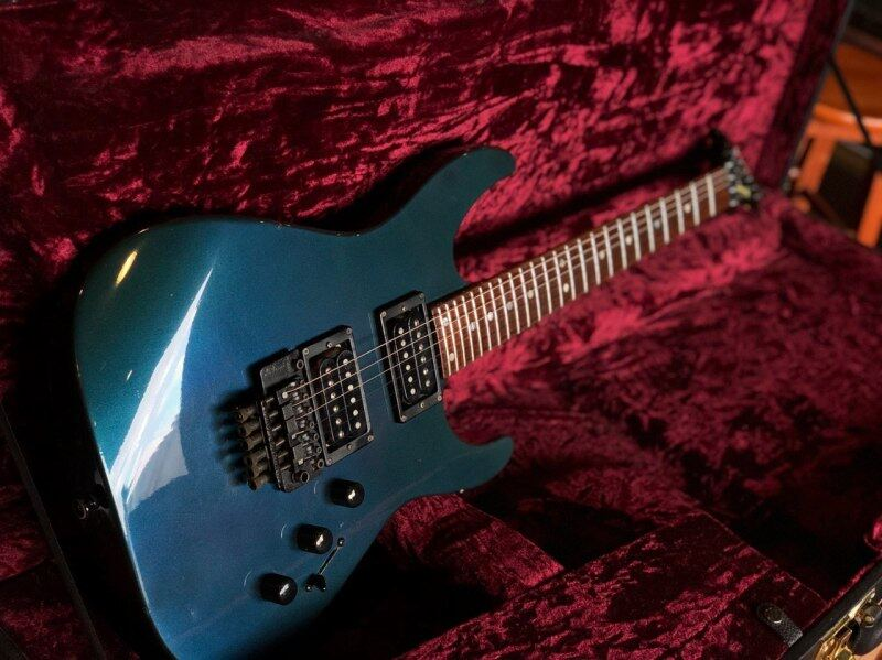**RARE** 1987 CHARVEL MODEL 5 COBALT BLUE MADE IN JAPAN (USED) Malaysia