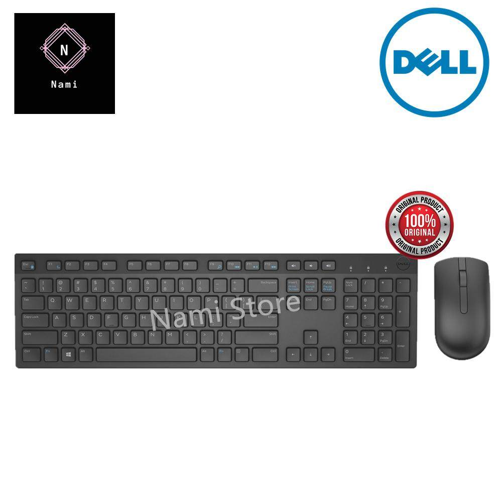 Original Dell Wireless Keyboard and Mouse Combo - KM636 (Double Bubble Wrap Packing + Fragile Sticker) Malaysia