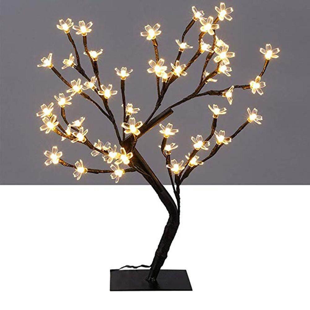 Tavey LED Cherry Blossom Light 36 Đèn LED Để Bàn Cây Ánh Sáng Đèn Trang Chủ Lễ Hội Trang Trí