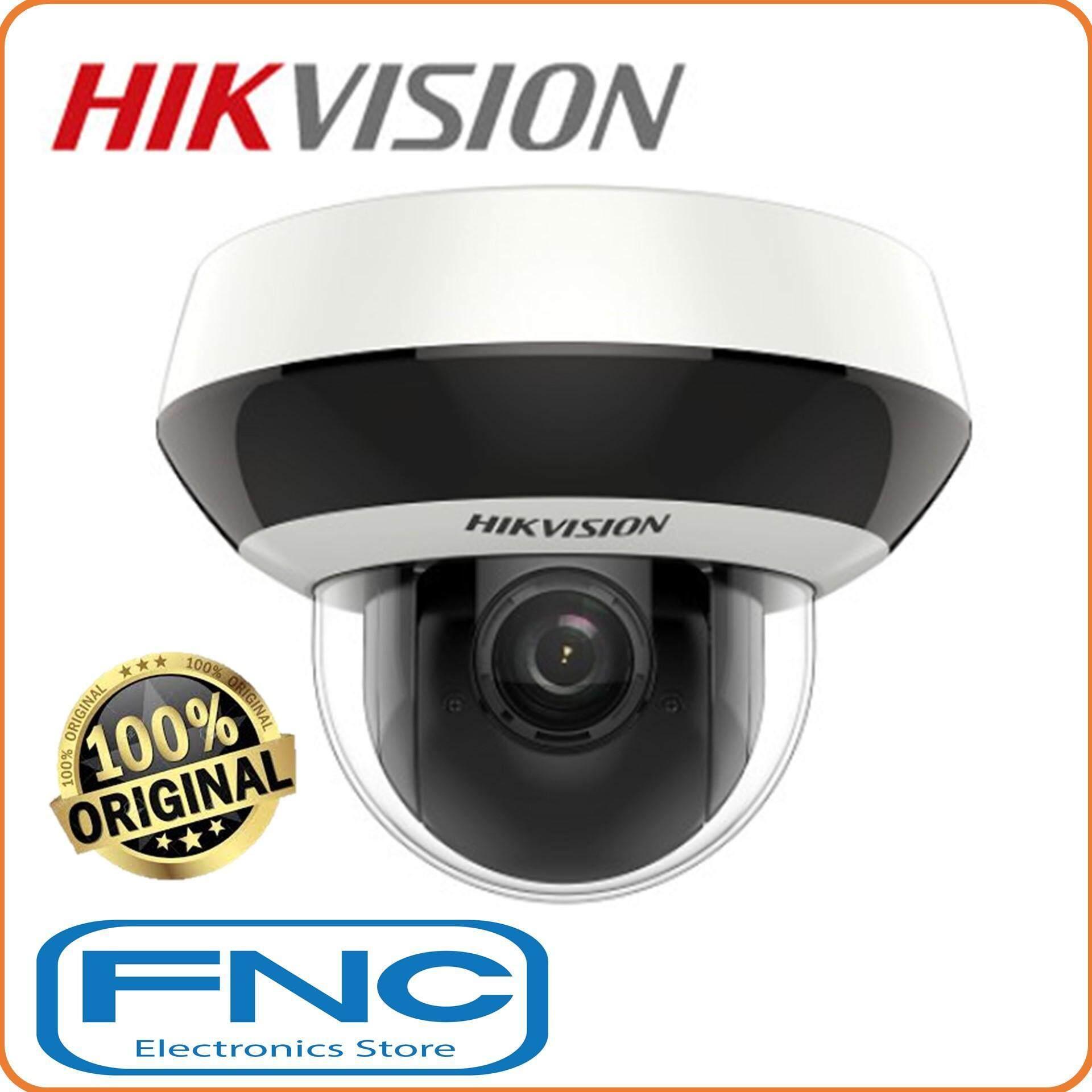 Hikvision Ds-2de2a204iw-De3 Network Ptz 2mp 1080p 4x Optical Zoom Ir 20m Dome Ip Camera By Fnc Electronics Store.