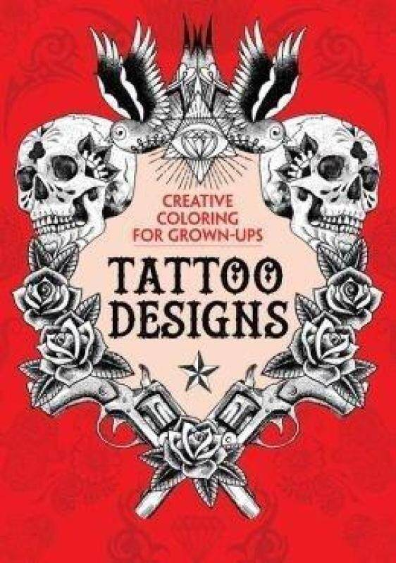 Creative Coloring for Grown-Ups: Tattoo Designs Malaysia