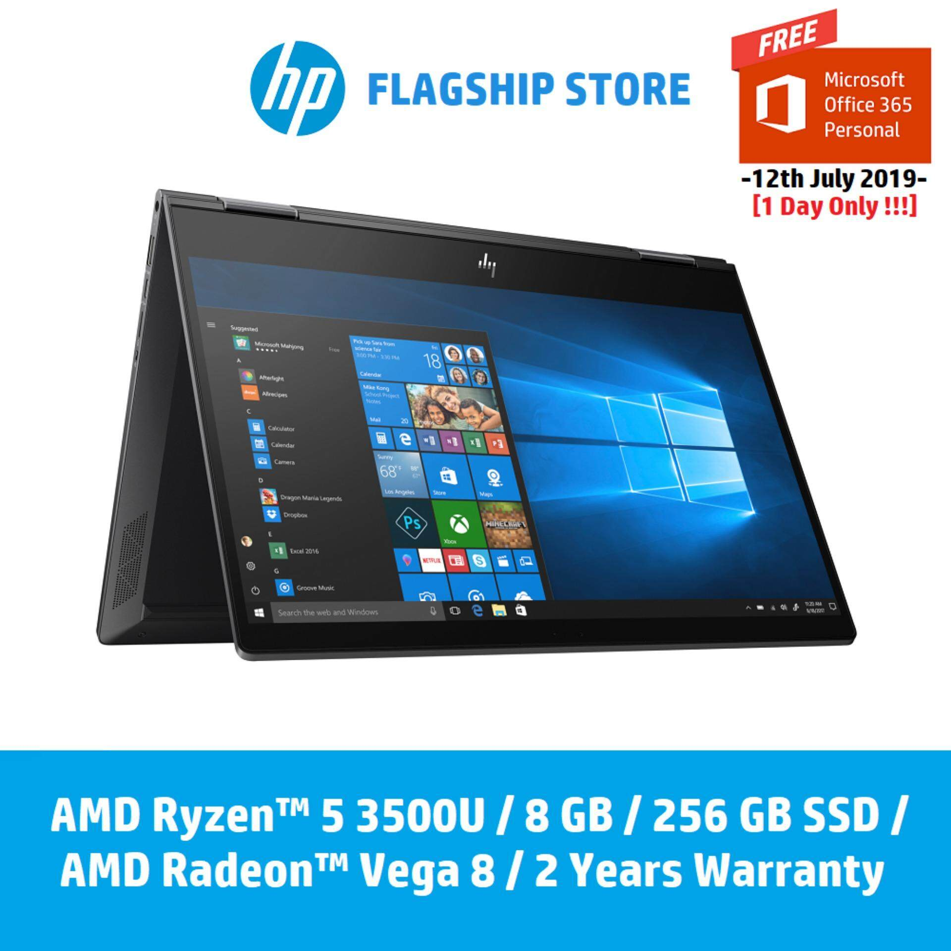 HP ENVY X360 13 ar0011au Laptop [FREE Delivery & Backpack] Malaysia