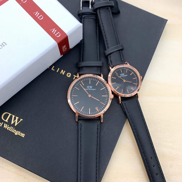 DW_ COUPLE WATCH WITH BOX Malaysia