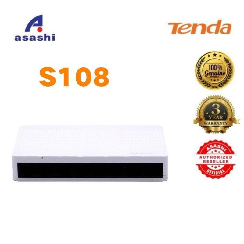 Bảng giá Chuyển Mạch Ethernet Tenda S108, Chuyển Đổi Mạng Ethernet 8 Cổng Để Bàn, Hub LAN 10/100Mbps, Nhỏ Và Thông Minh, Cắm Và Chạy, Cài Đặt Dễ Dàng Phong Vũ