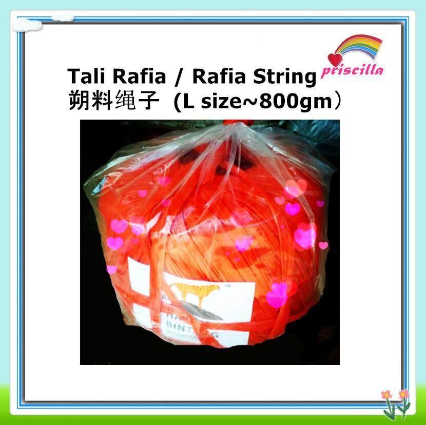 Tali Rafia Serbaguna / Multipurpose Rafia String (0.8~1 kg) 工业与农业多用途塑料绳子(10 rolls)