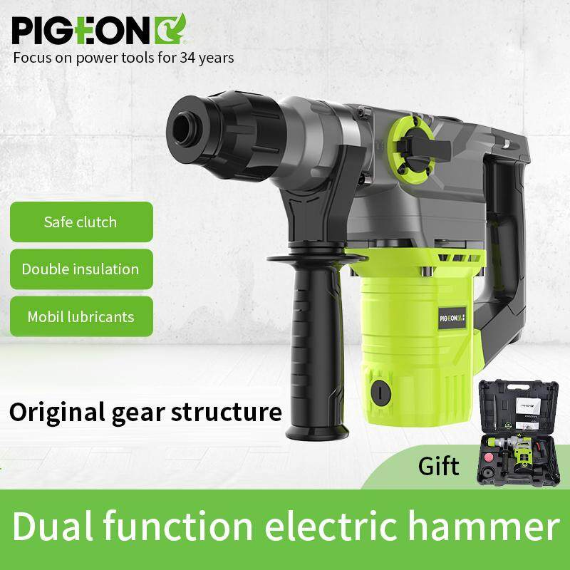 Pigeon Corded Drill Tools 220V More energy efficient Electric Drill Hammer Rechargeable Woodworking