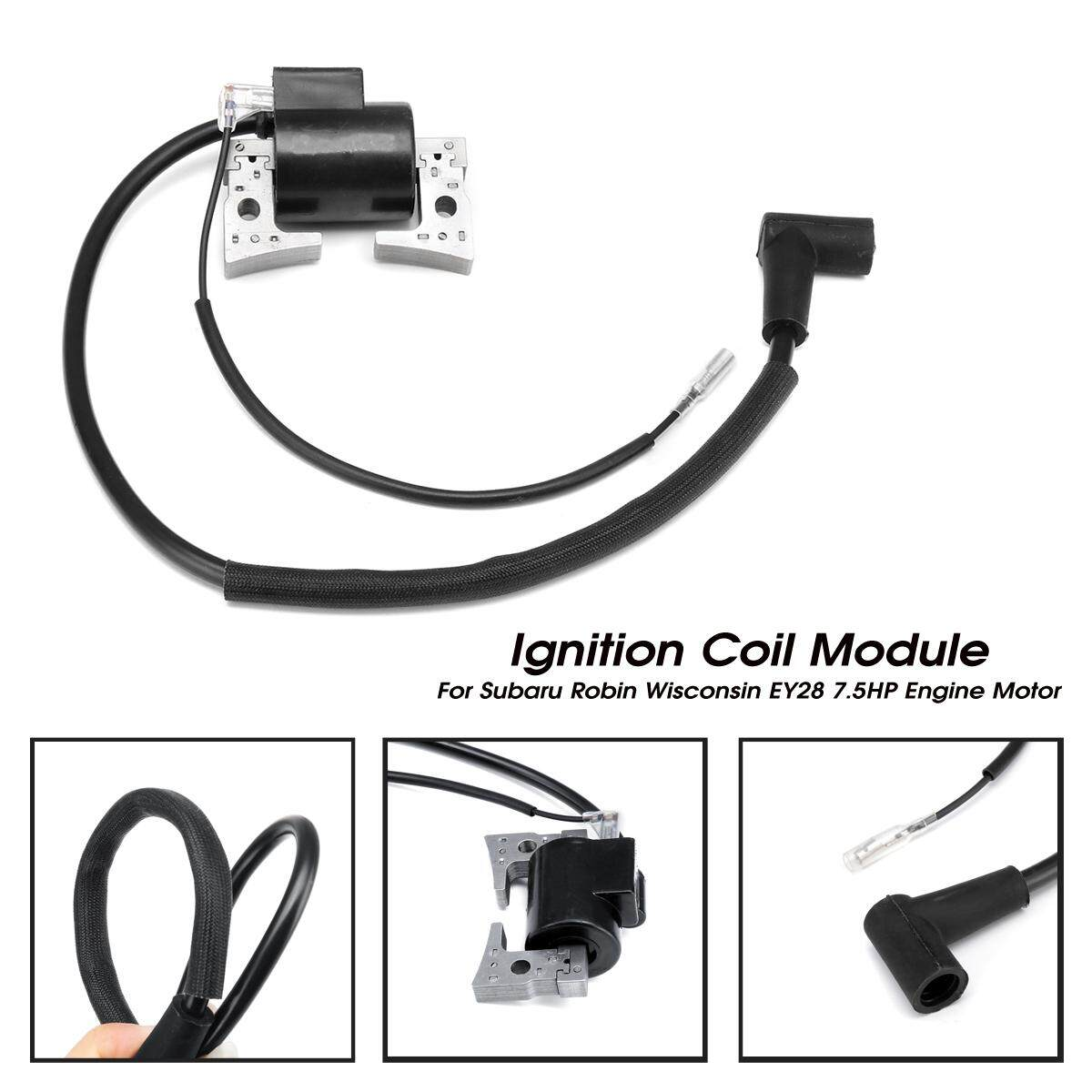 Ignition Coil Module For Subaru Robin Wisconsin EY28 7.5HP Engine Motor