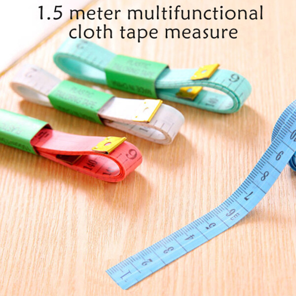 60in Soft Tailor Tape Measure Double-sided Measuring Tape for Sewing Waist Circumference Multifunctional Tape Measure Tape Measure