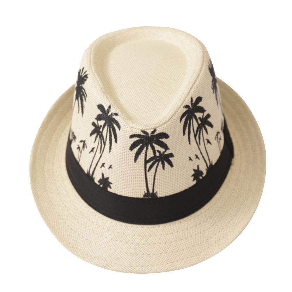 8f69730f Fashion Panama Fedora Travel Sombrero Beach Sun Hat Casual Wide Brim Straw  Summer Caps Trilby Men