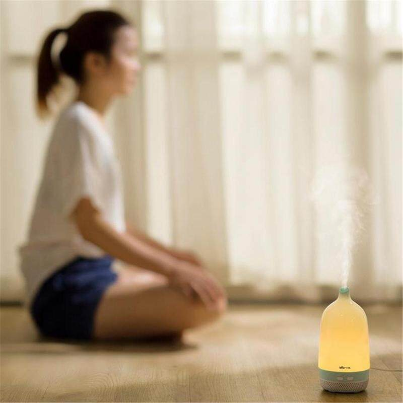200ML 9W Air Humidifier Aroma Diffuser Purifier Fog Mist Maker Home Office Light Singapore