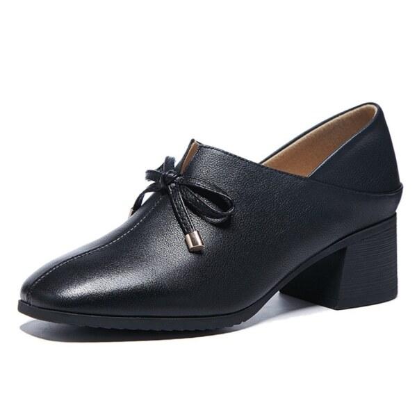 Giá bán Giày Nữ Đế Thấp Oxford Giày Da Thời Trang Mocassins Loafer Giày Giản Dị Đầm Công Sở Văn Phòng Tiệc Cưới Cỡ Giày