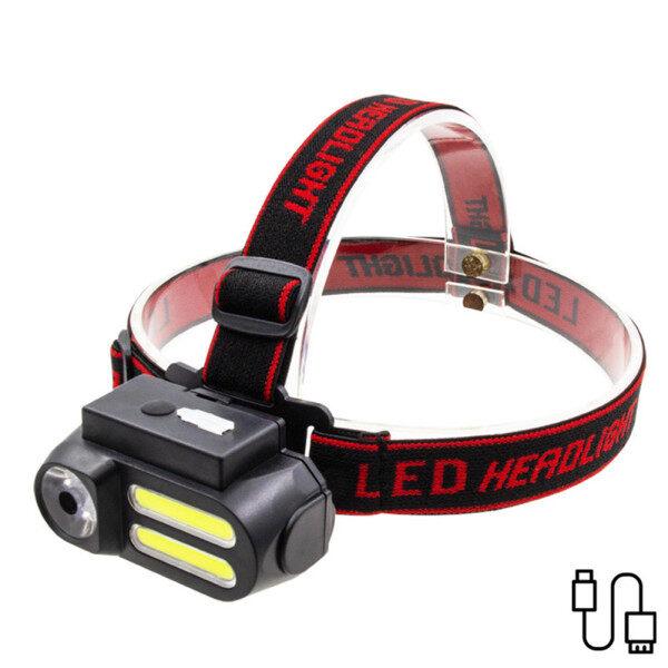 Ronghui Đèn Pha LED Đèn Pha Cầm Tay Sạc USB Đèn Làm Việc COB Đa Năng Để Chiếu Sáng Ban Đêm