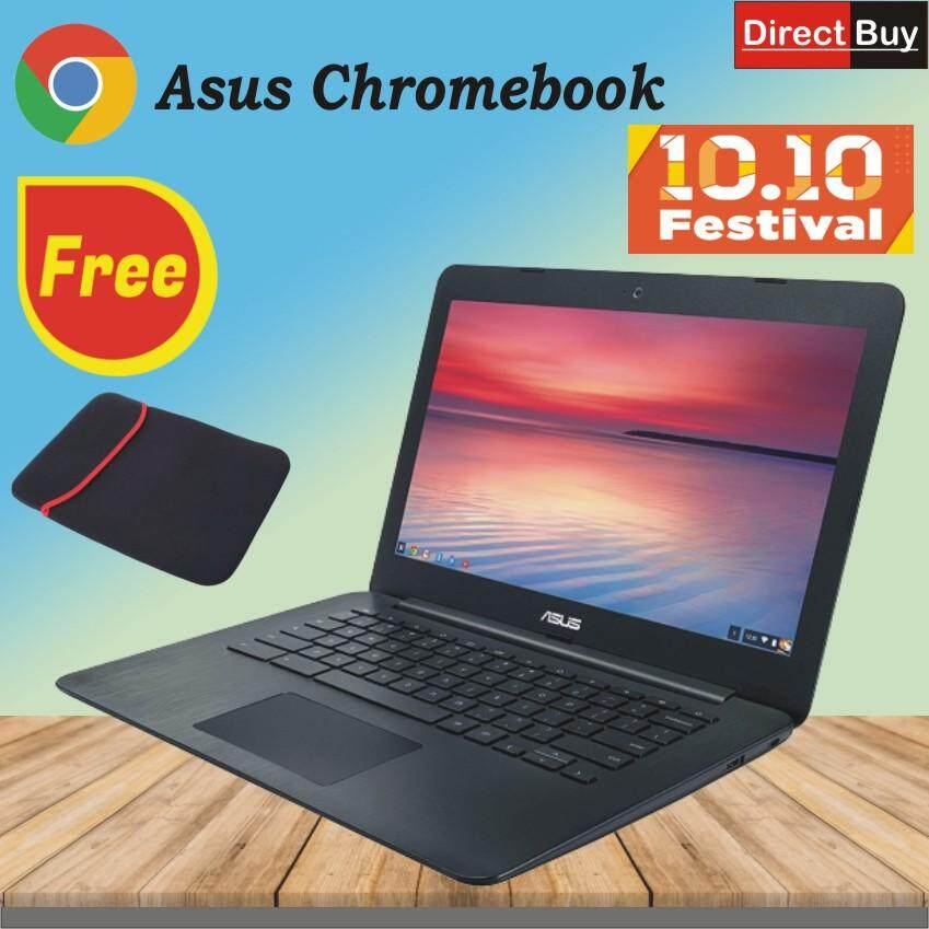 ASUS C300M 13.3-Inch Chromebook , Linux / Chrome OS (Grey Black) Malaysia