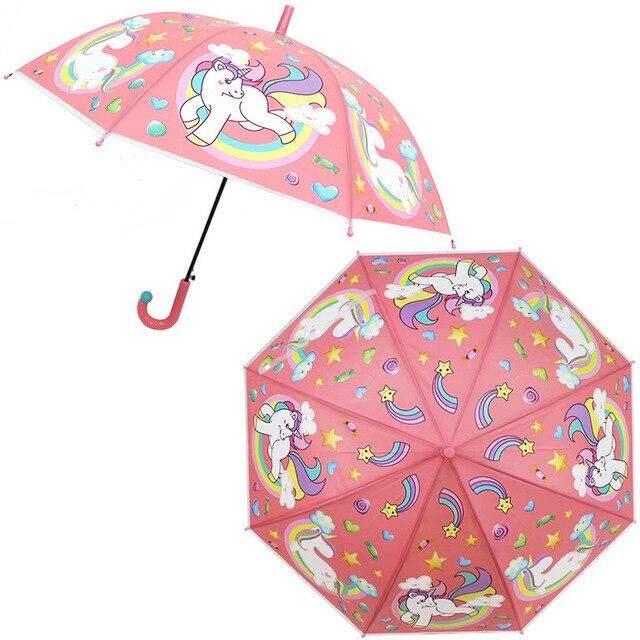 SAFEBET láser paraguas de los niños paraguas de cine Arco Iris color cambiando paraguas niños paraguas transparentes Dropshipping. exclusivo.,Bus Navy