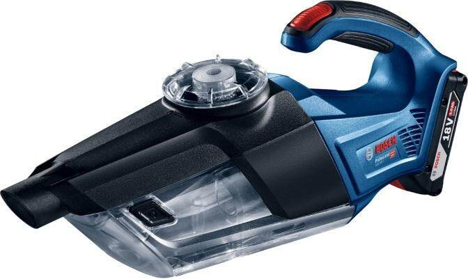 Bosch GAS 18V-1 Professional Cordless Vacuum Cleaner Solo Version (Without Battery & Charger) - 1619Z11351