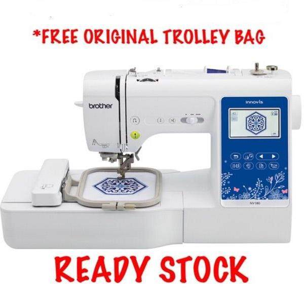 Brother Nv180 3 in 1 Embroidery Quilting & Sewing Machine