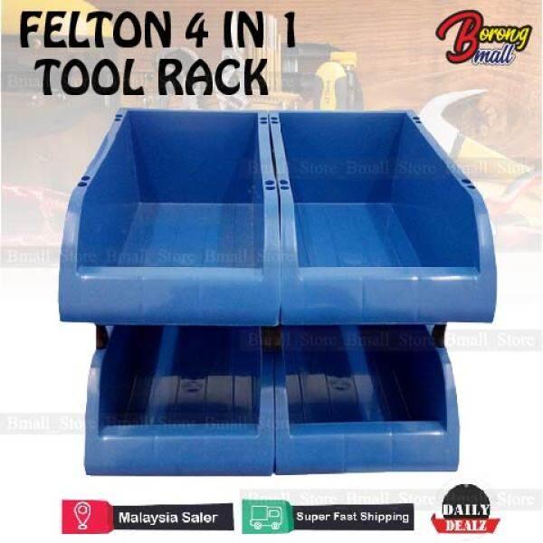 Felton 4 in 1 Tool Rack Storage Plastic FTR173