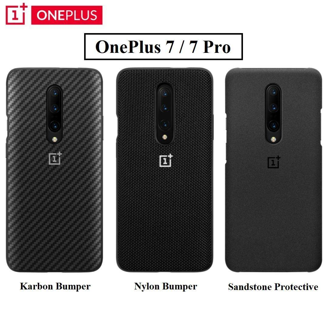 new products 951ed b3824 OnePlus 7 / 7 Pro Official Bumper Protective Case