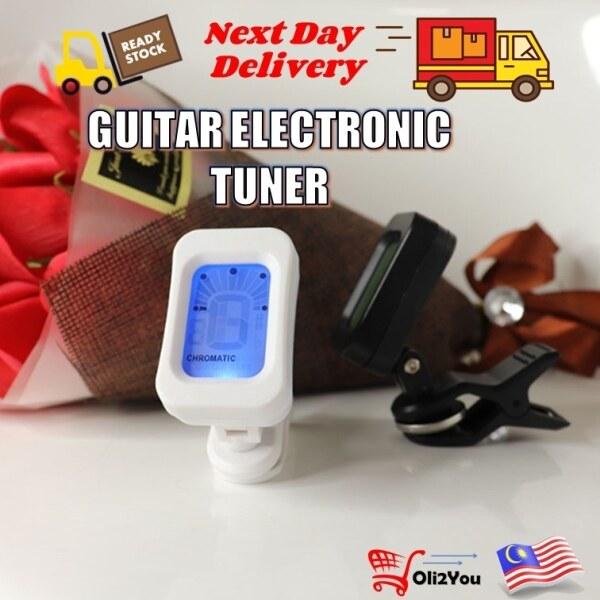 ♂  Guitar Tuner (Bass Violin Ukulele Chromatic Electric) Gitar Tuner Tuning Clip On Tune Malaysia