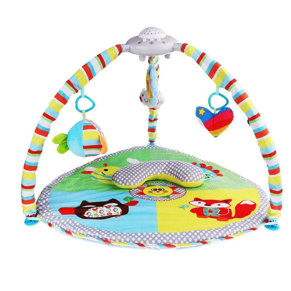 Magideal Animal Baby Infant Gym Play Mat Indoor Floor Crawl Soft Blanket Mat Toy By Uugrojuaw.