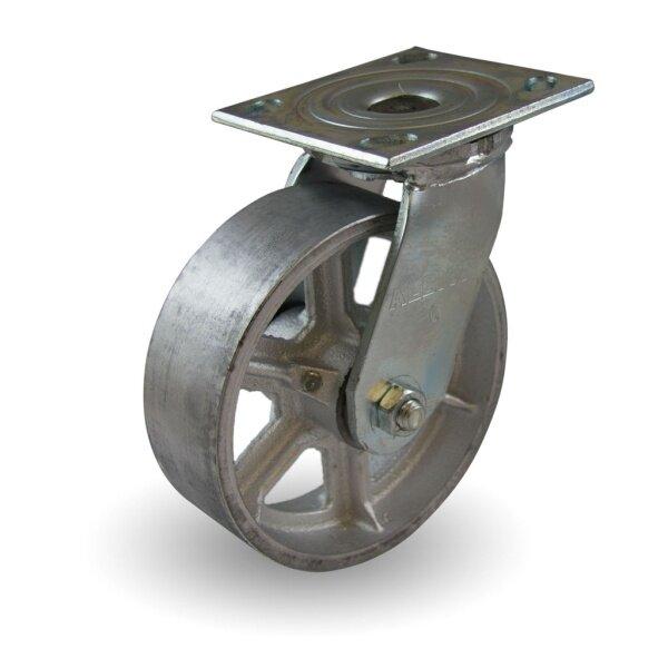 Heavy Duty 4 / 6 Cast Iron Castor Wheels Trolley Caster