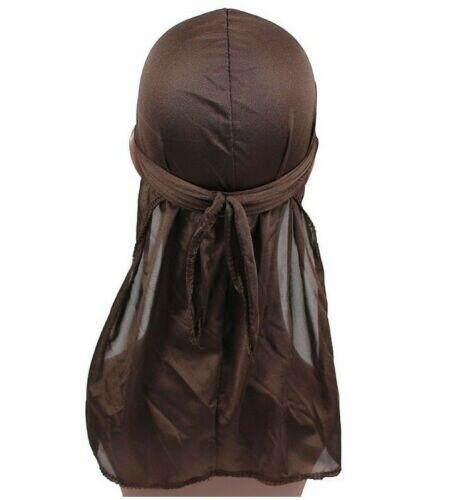 Fashion Men Women Breathable Close Fit Tie Down Sport Du Rag Head Scarf Wrap