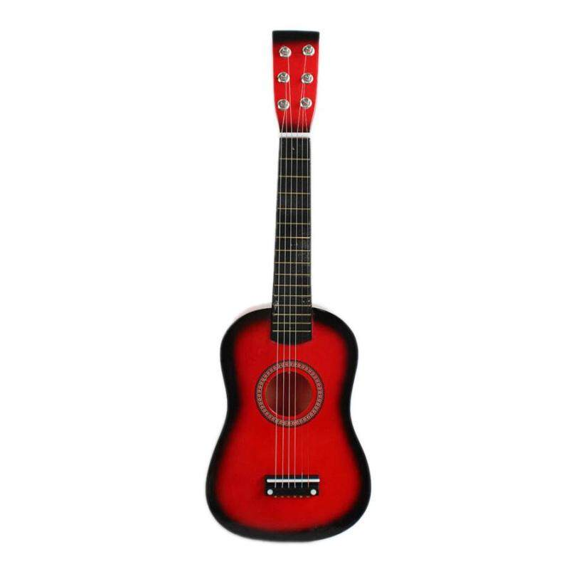 23inch Guitar Mini Guitar Basswood Kids Musical Toy Acoustic Stringed Instrument with Plectrum 1st String Blue Malaysia