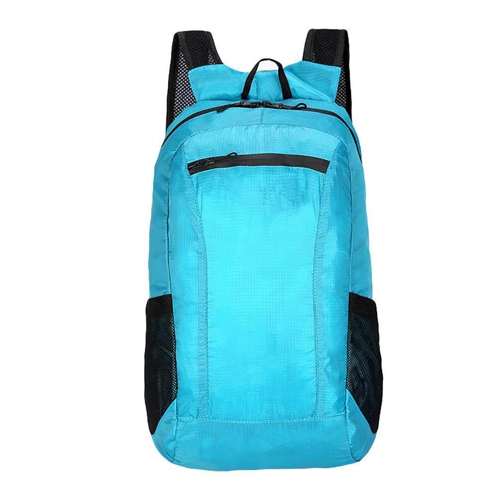 3b124b7b310 Fashionhead 2019 Korean version S/S bag Portable Outdoor Sports Folding  Light Waterproof Shoulder Bag Climbing Backpack
