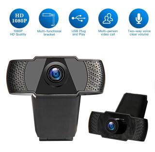 Camera Máy Tính INQMEGA Webcam HD Tự Động Lấy Nét Webcam Mic Kép Tích Hợp USB Có Micrô Máy Quay Video USB Kỹ Thuật Số Dành Cho Máy Tính Để Bàn thumbnail