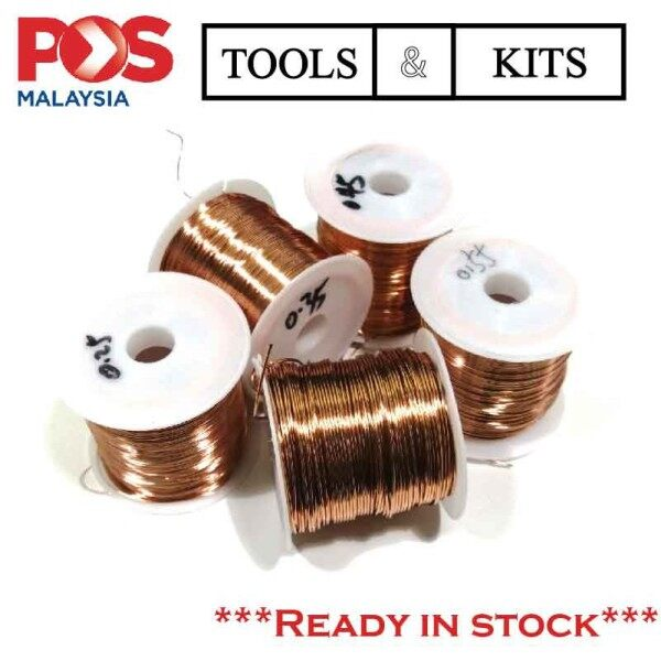 100g Enamel Polyurethane Copper Wire Direct Solder QA-1 2UEW 0.25/0.35/0.45/0.55/0.75mm