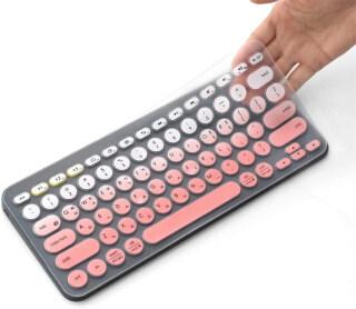 Vỏ Bàn Phím Silicon Nhiều Màu Thời Trang Cho Logitech Bluetooth, Vỏ Bàn Phím Đa Thiết Bị K380 (Model K380) Siêu Mỏng Bảo Vệ Da thumbnail