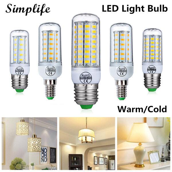 Simplife Bóng đèn LED 220V E14 E27, công suất 12W 15W 18W 20W 25W, tiết kiệm năng lượng, trang trí nội thất, giá tốt - INTL