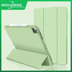 Ốp GOOJODOQ Cho iPad Air 4 10.9, Ốp iPad Pro 11 12.9 2018 2020 iPad 10.9 Inch Thế Hệ Thứ 4 Có Ngăn Đựng Bút Chì iPad Pro 11 2018 2020 (Không Bút Chì)