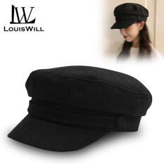 LouisWill Phụ nữ Mũ Mũ beret mũ nữ Thời trang Mũ đồng màu Mũ phẳng Mũ hình bát giác Mũ vải bông Mũ chống nắng ngoài trời Mũ beret Mũ gôn Mũ phẳng Mũ thường Mũ Hip Hop Mũ nồi cho nữ nón nữ
