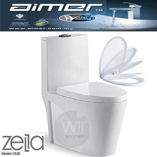 Zella  WASHDOWN ONE PIECE W/C S-trap 250mm(10) Roughing-in(white colour)