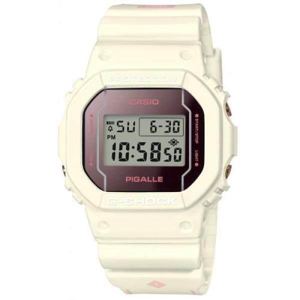 [Casio] Wrist Watch G-SHOCK PIGALLE Tie-up Model DW-5600PGW-7JR Mens White Malaysia