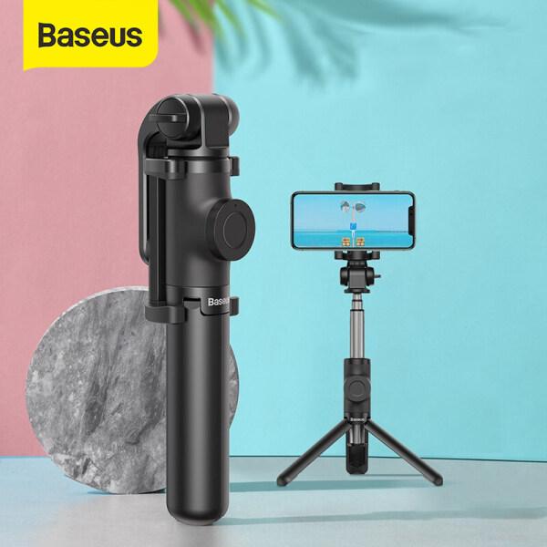 Baseus Wireless Bluetooth Selfie Stick Cho Điện Thoại IOS Android Sasumg HuaWei Có Thể Gập Lại Cầm Tay Monopod Shutter Từ Xa Có Thể Mở Rộng Mini Tripod