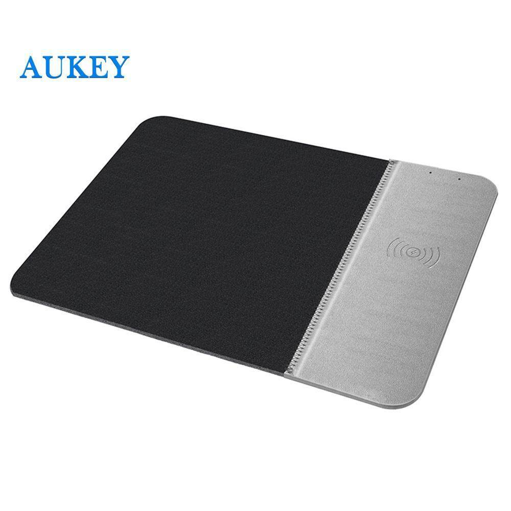 QI Charging Mat Charging Mouse Pad Mouse Mat Durable 5W 4 Color PU+Rubber Wirelesst Charger Non-Slip Home Fast Charger Game Laptop Comfortable Office Computer for Samsung S10 iPhone Xs Malaysia