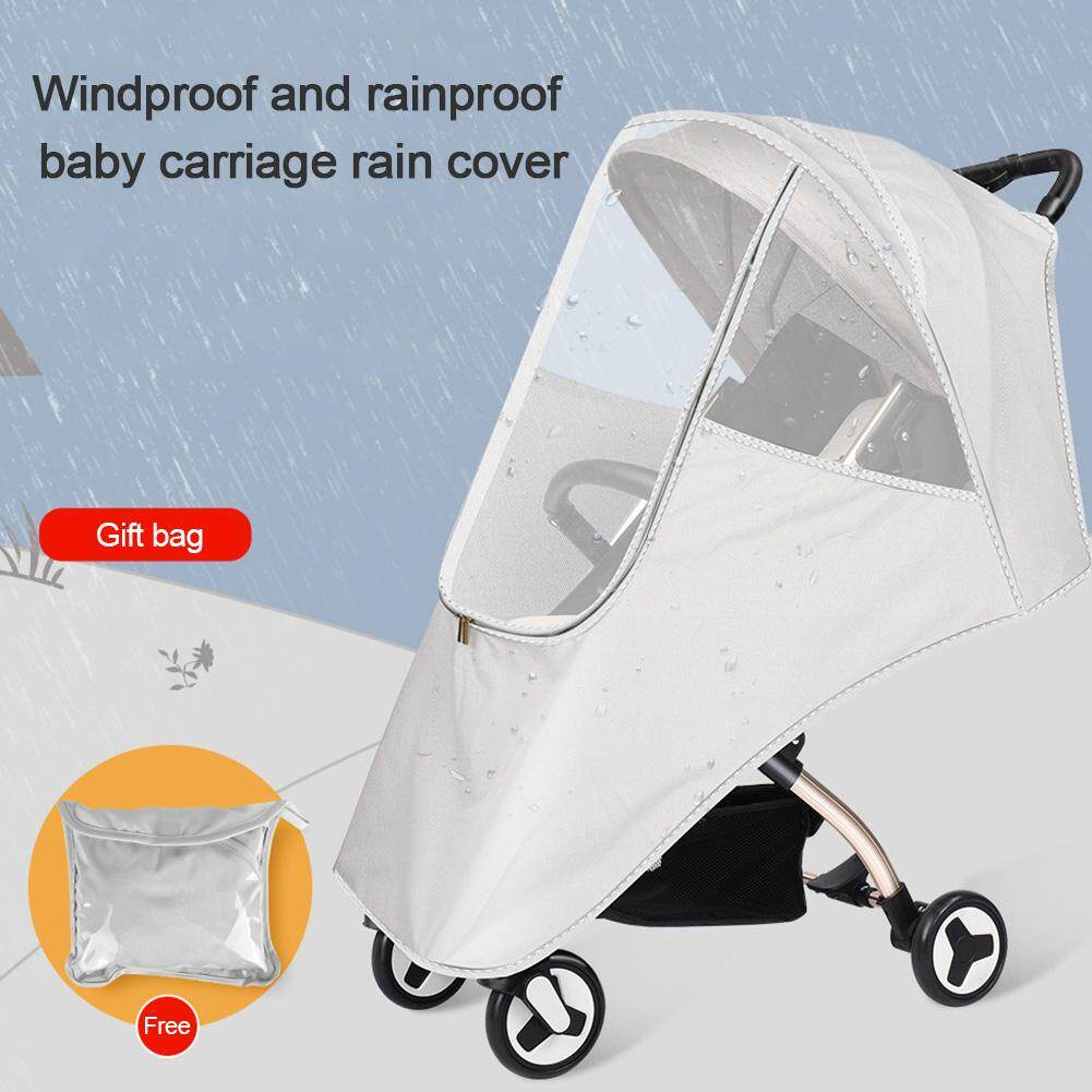 ESHOO Baby Mosquito Net for Stroller White Baby Insect Netting Fit for Infant Beds Cradles Carriers