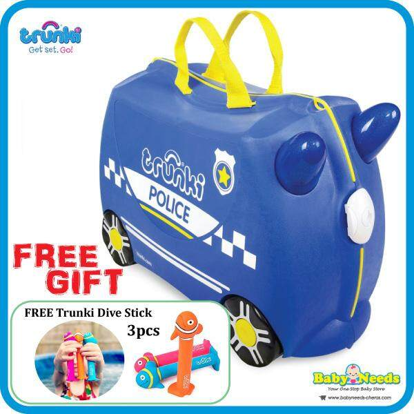 Trunki Percy The Police Car By Baby Needs Store.