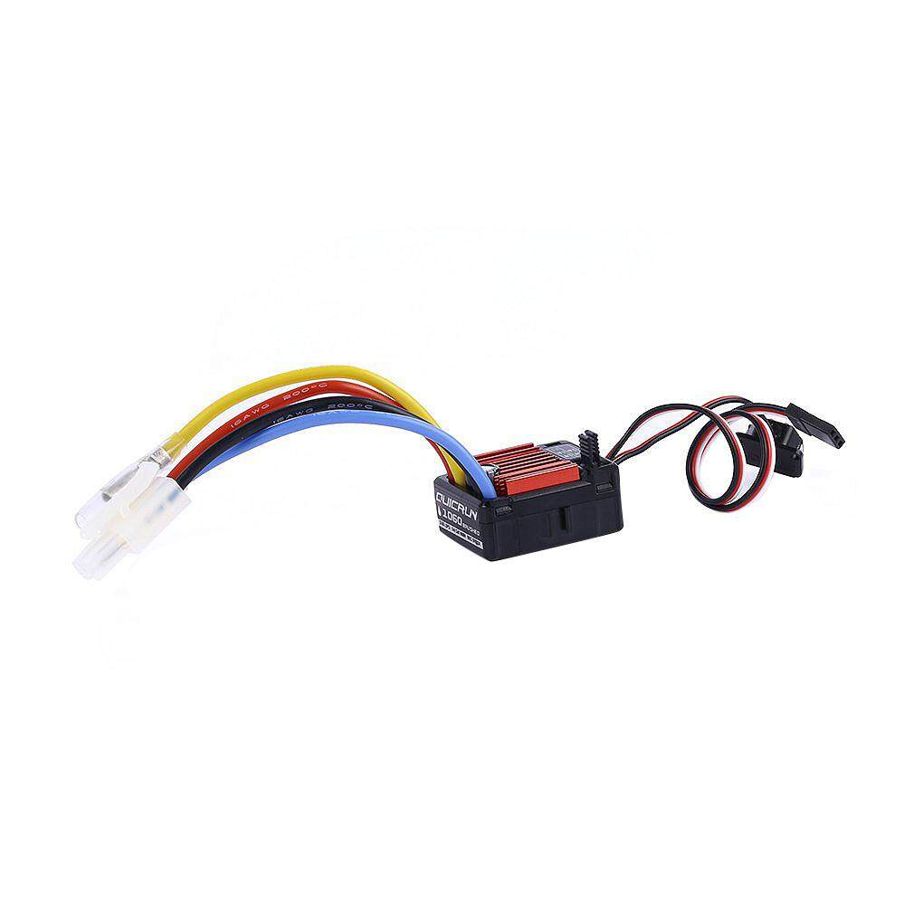Rc Car Parts HobbyWing QuicRun 1/10 Waterproof Brushed 60A Electronic Speed Controller Esc 1060 For Rc Car Toys For Children